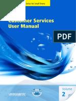 Customer Services User Manual Volume 2