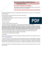 Cartaz - Edital Unificado 2º2014