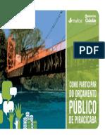 CARTILHA Imaflora Orçamento Piracicaba