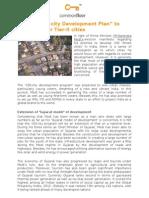 """Modi's """"100-City Development Plan"""" to Benefit Major Tier-II Cities"""