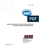 Safety Standard  for Horizontal Carousel Material Handling and Associated Equipment