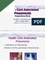 Lecture 7 - Nosocomial Pneumonia