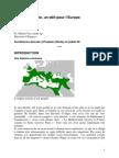 La Méditerranée, un défi pour l'Europe
