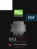 RVCA Rectangular Voice Coil Actuator