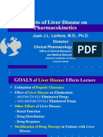 Effects of Liver Disease on Pharmacokinetics
