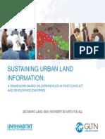 Sustaining Urban Land Information