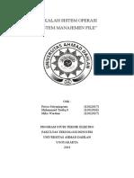 Makalah Manajemen File