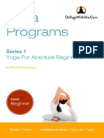 Yoga for Absolute Beginners-DYWM