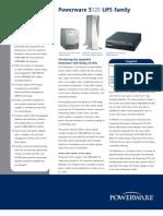 Powerware 5125 UPS Family