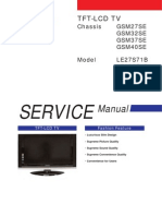 Tv Lcd Le40s71b Chassis Gsm40se