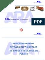 Procedimiento Extraccion y Montaje de Haz Tubular