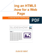 HTML5 SlideShow Tutorial