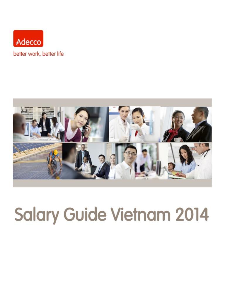 Vietnam salary guide 2016 [report] asean up.
