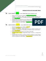 Modalitatea de Evaluare 2014