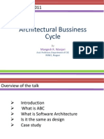 Architecture Bussiness Cycle