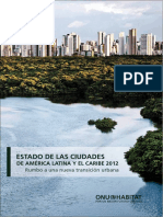 Estado de Las Ciudades de América Latina y El Caribe (State of the Latin America and the Caribbean Cities Report)