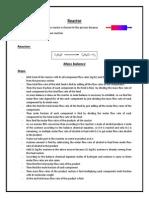 Reactor Report