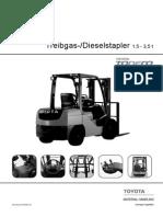 Toyota GS Diesel 02-8FG 02-8FDF 15-35