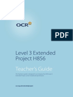 76767 Extended Project Teacher s Guide