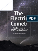 The Electric Comet the Elephant in NASA s Living Room