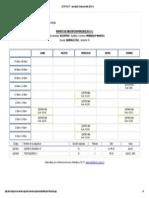 SICE FACYT - Inscripción Online Periodo (2014-1) - M