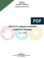 Proyecto Hogar Guarderia Peru 2008 2