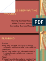 Ppt-The Three Step Writing Process