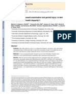 Forensic Sexual Assault Examination and Genital Injury