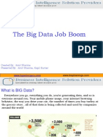 BIG Data Career Freshers