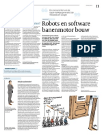 Robots en Software Banenmotor Bouw - Cobouw04-06-2014