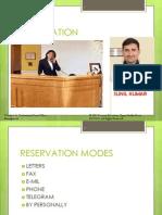 Reservation Channels