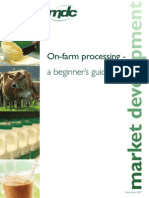 On Farm Processing - A Beginners Guide
