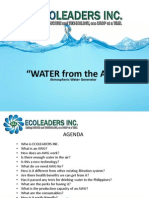 ecoleaders inc ecoloblue presentation manual