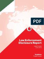 Vodafone Law Enforcement Disclosure Report