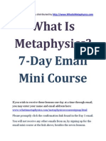 Metaphysics e Course PDF