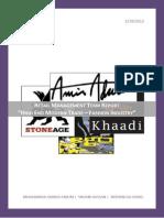 Report on Pakistani Fashion Retail Brands