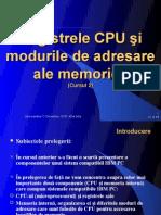 Cursul 2 Registrele CPU 8086 si Moduri de adresare