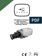 VEC400DNu__VEC402DN Camera Operation Manual