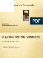Wheat Beer Yeast Fermentation