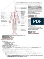 Blood Vessels Study Guide