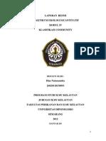 Laporan Ekokuan Klasifikasi Komunitas