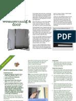 41 Weatherizing Doors