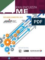 Gran Encuesta Pyme II-2013