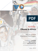 Obama in Africa-An AGOA Analysis