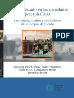 Dell'Elicine, Francisco, Miceli, Morin (Coor) - Pensar El Estado en Las Sociedades Precapitalistas