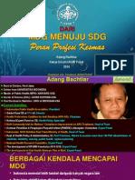 MDG Menuju SDG-peran Profesi Kesmas_IAKMI
