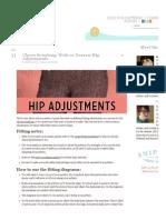 Hip Adjustments Hip