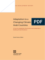 Adaptation to a Changing Climate in the