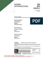 Iec 61672-1 - Electroacustica - Sonometros