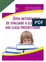 Ghid metodologic de evaluare a elevilor din clasa pregătitoare